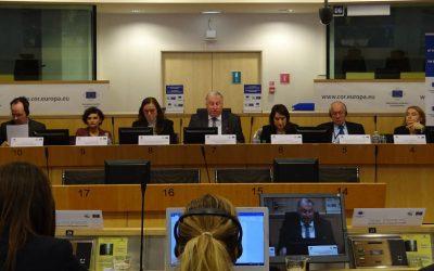 Il 20 Marzo Ethic ha assistito alla sottoscrizione della Cohésion Alliance da parte dei rappresentanti dell'Euroregione Alpi Mediterraneo, alla presenza del presidente del Comitato delle Regioni Karl-Heinz Lambertz