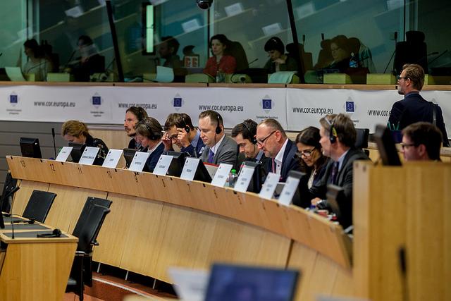 """In rappresentanza della Regione Valle D'Aosta, il 27 Aprile Ethic ha partecipato alla """"Commissione Politica di Coesione Territoriale e Bilancio dell'UE"""" organizzata dal Comitato delle Regioni."""
